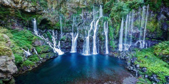 Cascade Grand Galet - rivière Langevin (La Réunion)