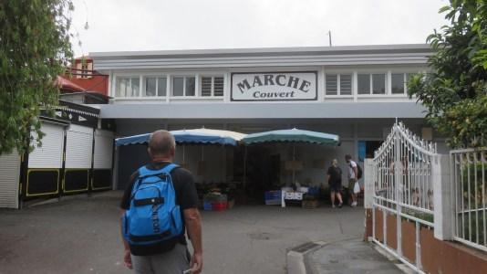 Le marché couvert de Cilaos