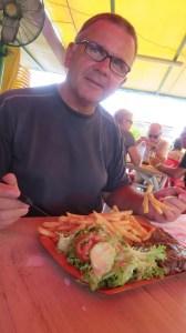 Repas au snack - Etang Salé les Bains