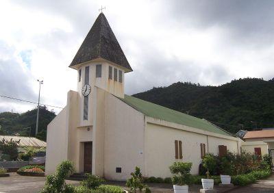 L'église de Tévelave - Réunion