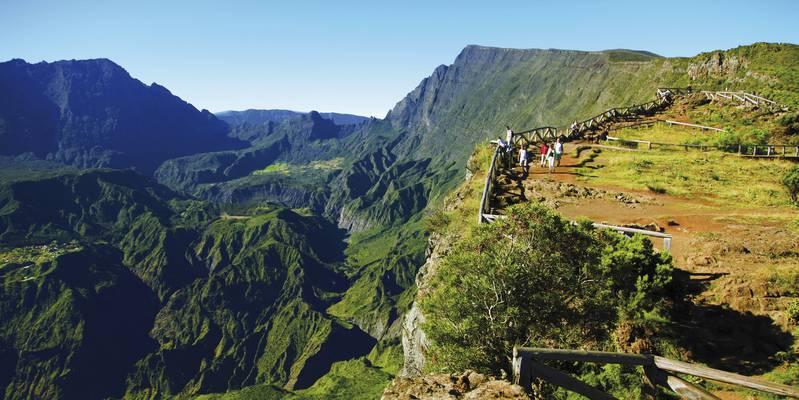 Le belvédère du Piton Maïdo - St Paul (Réunion)