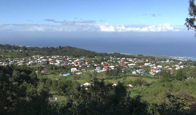 Vue sur Le Tévelave - Réunion