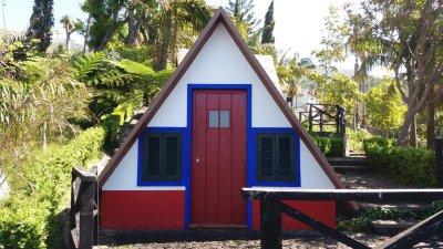 Maison traditionnelle au Jardin Tropical Monte (Funchal)