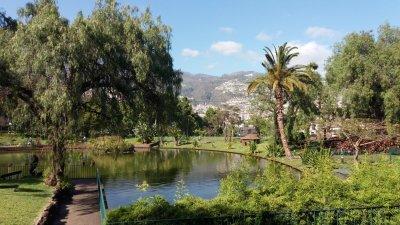 Le parc Ste Catherine de Funchal - Madère