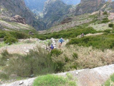 Les trailers du MIUT au Pico de Arieiro - Madère