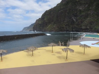 Piscine naturelle de Ponta Delgada - Madère