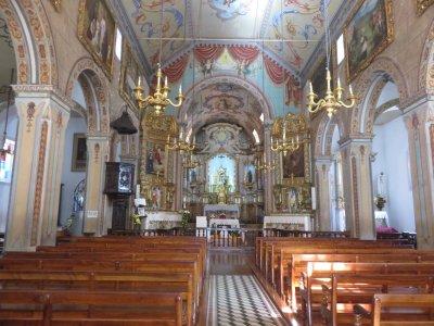 L'église de Sao Vicente - Madère