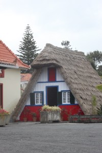 Maison typique à Ponta Delgada - Madère