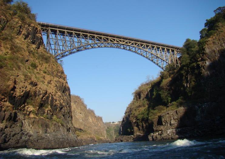 Le pont de Victoria Falls - Zimbabwe