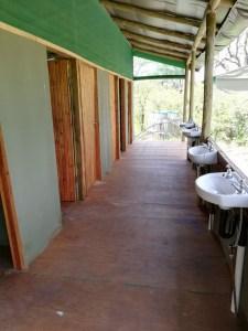 Sanitaires au campsite de Mbudi - Botswana