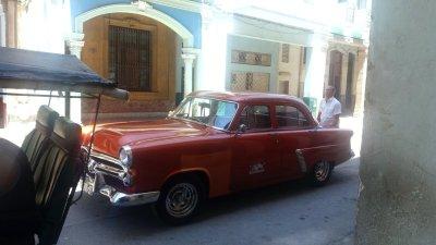 Notre arrivée chez l'habitant rue Cardenas - La Havane (Cuba)