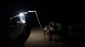 Soirée au campsite Muchenje - Botswana