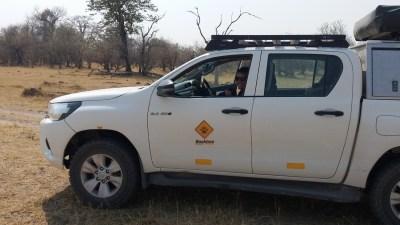 Dans la Réserve de Moremi (Botswana)