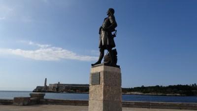 Statue de Pierre le Moyne D'Iberville - La Havane (Cuba)