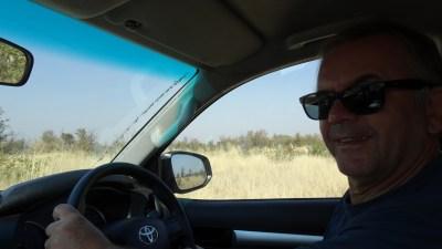 Sur la piste entre Savuti et la concession de Khwai - Botswana