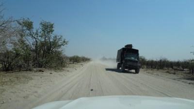 Sur la White Road entre Savuti et la concession de Khwai - Botswana