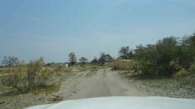 Arrivée au campsite de Third Bridge - Botswana