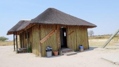 L'épicerie du campsite de Third Bridge - Botswana