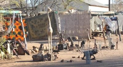 En ville à Kasane - Botswana