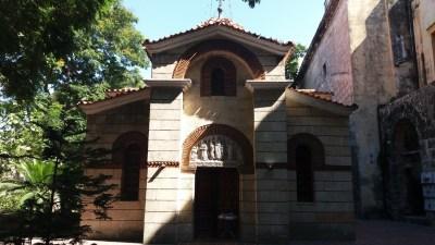 L'église orthodoxe grecque Saint-Nicolas à la Havane - Cuba.