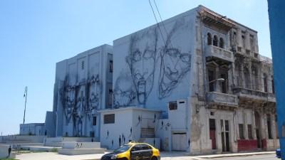 Peintures murales Avenue Antonio Maceo (Malecon) - La Havane (Cuba)