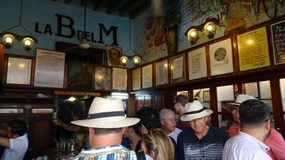 La Bodeguita del Medio - Rue Obispo (La Havane-Cuba)