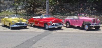 Belles américaines colorées - La Havane (Cuba)
