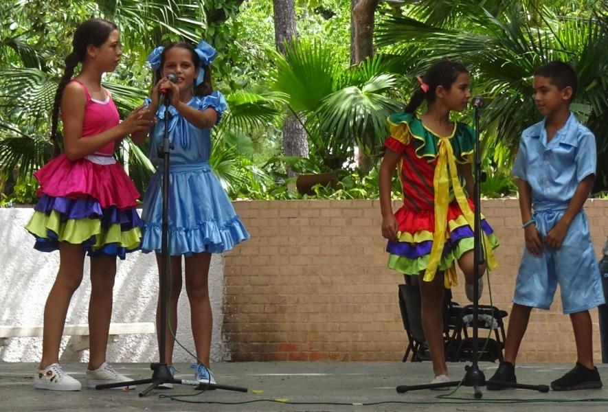 Petits chanteurs cubains - Pinar del Rio (Cuba)