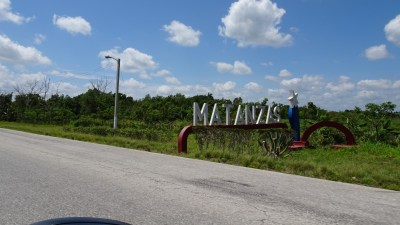 Sur la route entre Las Terrazas et Matanzas (Cuba)