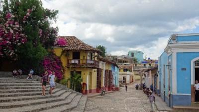 Dans les rues pavées de Trinidad - Cuba