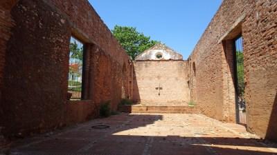 Les ruines de l'Ermitage de Nuestra Señora de la Candelaria de la Popa, Trinidad