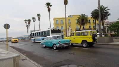 Le bord de mer - La Havane (Cuba)