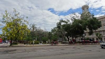Parque Central - La Havane (Cuba)