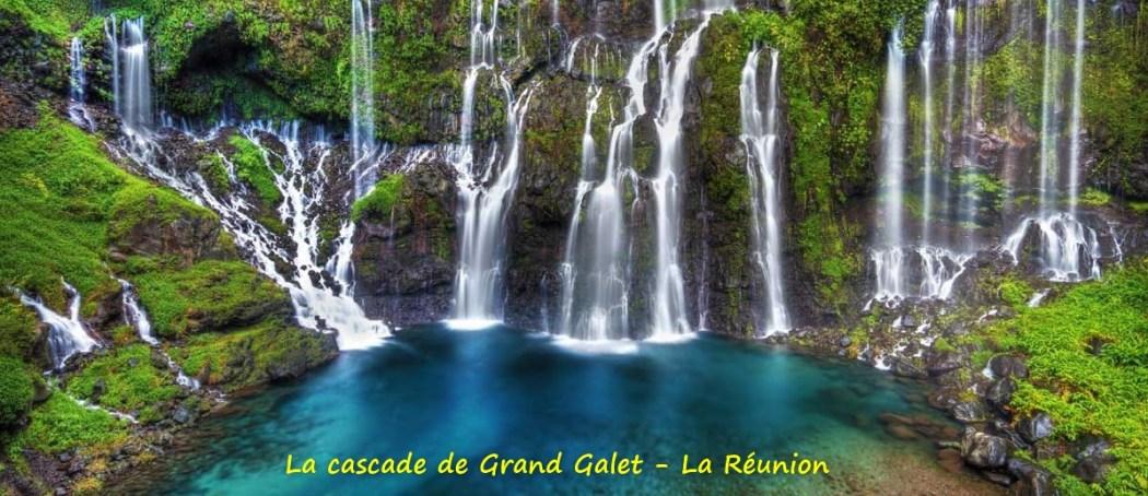 La cascade de Grand Galet (La Réunion)