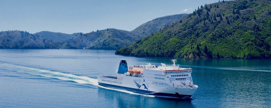 Le ferry inter îles Nlle Zélande