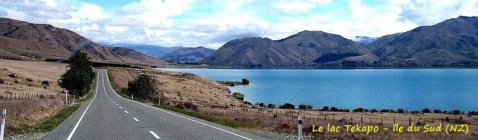 Le lac Tekapo - île du Sud (NZ)