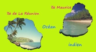 Océan indien - îles de La Réunion et Maurice