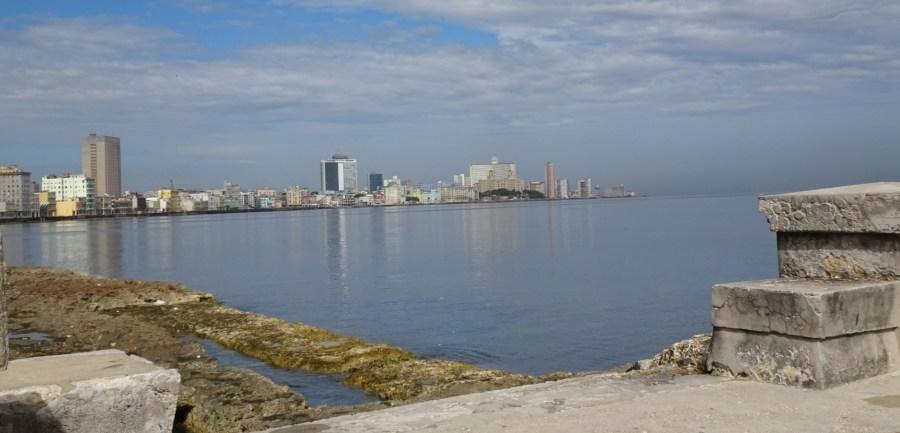 Vue sur le Malecon - La Havane (Cuba)