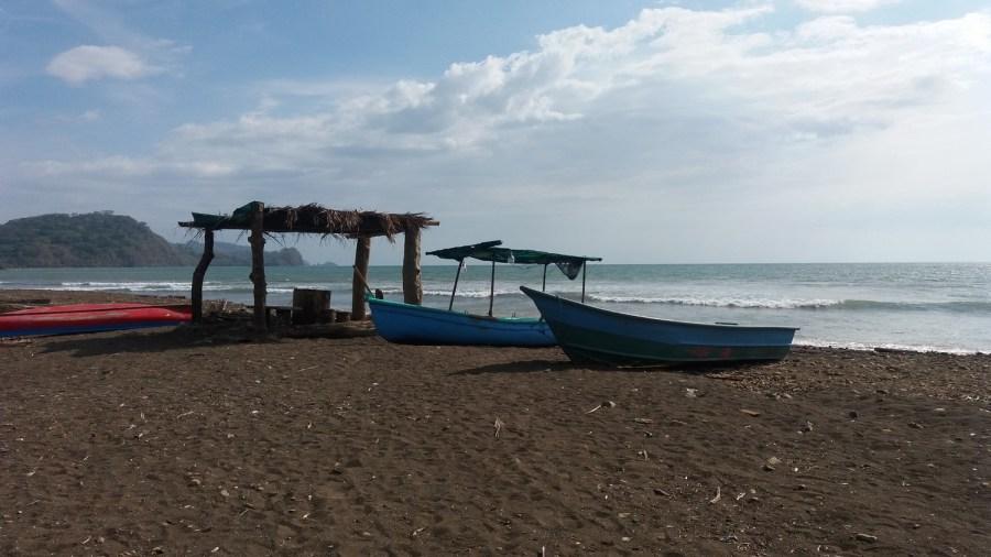La plage de Tarcoles - Costa Rica