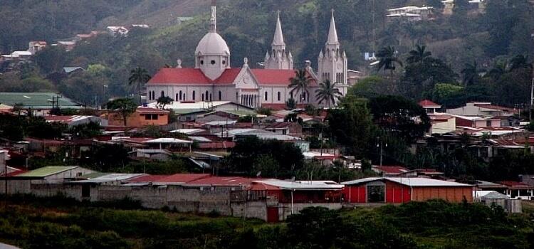 La ville de San Ramon - Costa Rica