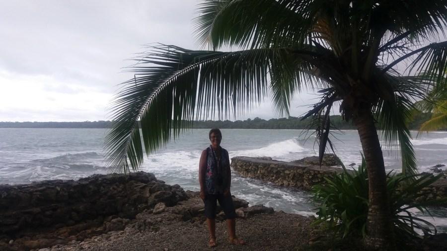 Le bord de mer de Cahuita - Costa Rica