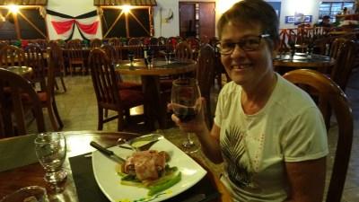 Au restaurant à Santa Elena - Costa Rica