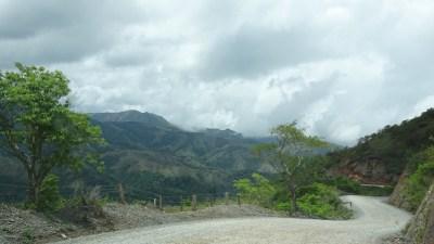 Sur la piste au Monteverde - Costa Rica