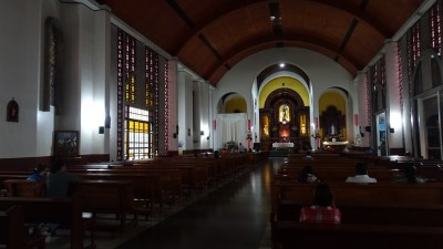 L'église du couvent de San Francisco - Cartago (Costa Rica)