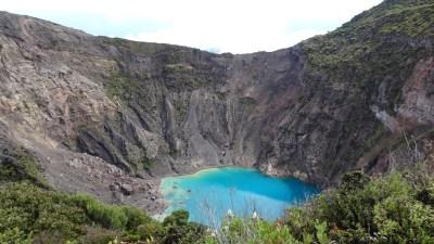 Le volcan Irazu (3432m) - Costa Rica