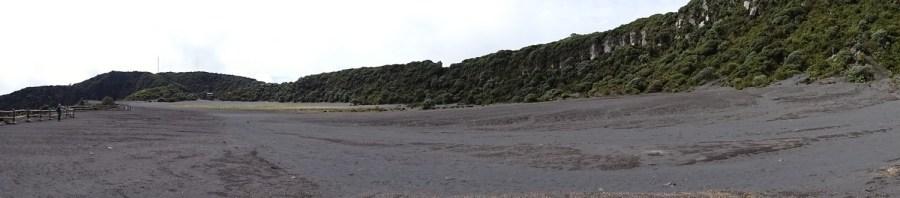 Le site du volcan Irazu - Costa Rica