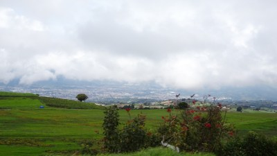 Sur la route du parc du volcan Irazu depuis Cartago - Costa Rica
