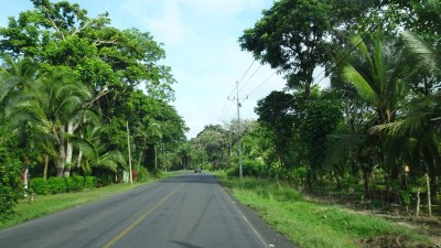 Le long de la côte caraîbe avant Cahuita - Costa Rica