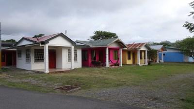 Des habitations à Cahuita - Costa Rica