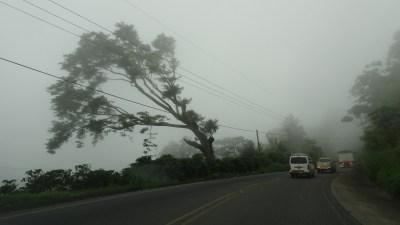 La tempête sur le retour de Cahuita vers Puntarenas - Costa Rica